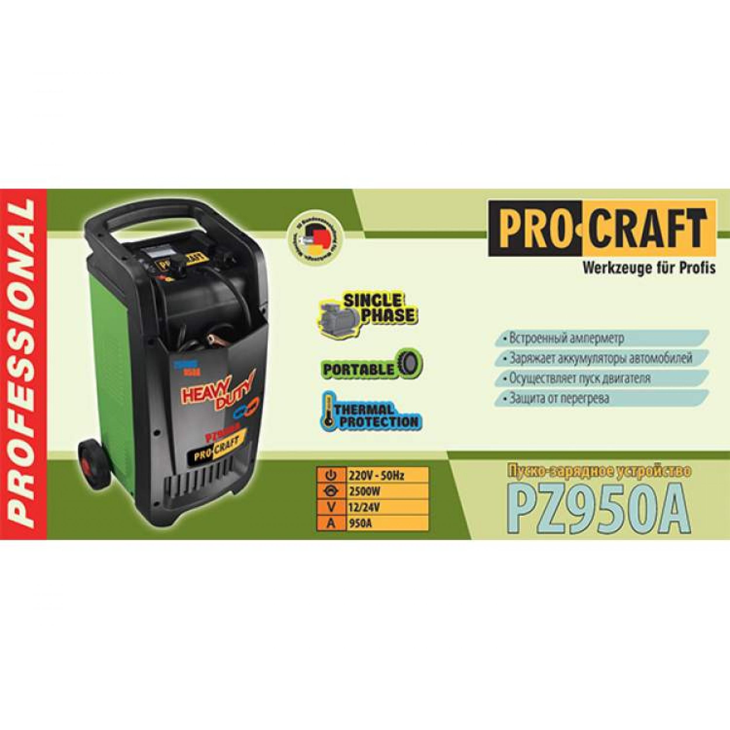 Prestarting-încărcător Procraft PZ950A